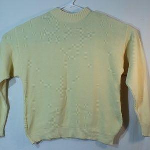 Calvin Klein sport knit sweater large